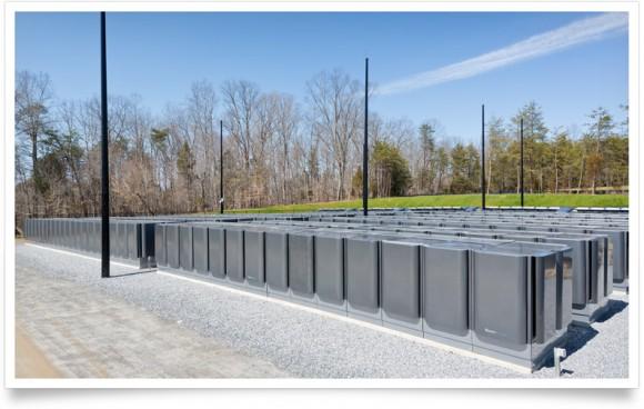 Sada palivových článků na bioplyn o výkonu 10 MW, foto: Apple