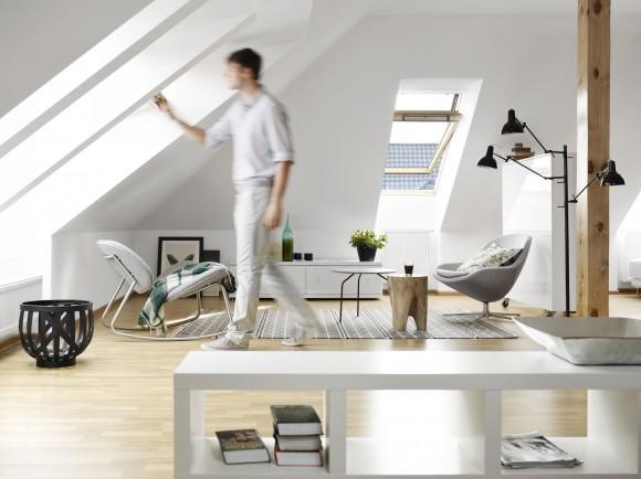 Moderní osvětlení je kritickou součástí každého bydlení. foto: VELUX