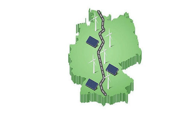 Dálnice A7 propojuje Německo od severu k jihu. Nově by se mohla stát i jeho energetickou tepnou.