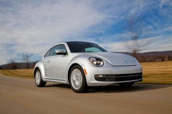 Nový Volkswagen Beetle TDI. Ten si můžete v půjčovnách vypůjčit taktéž. foto: Volkswagen of America