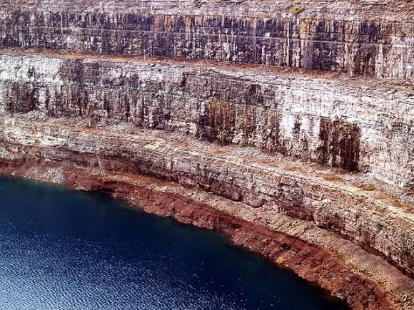 Důlní dílo Bethelem Steel bude sloužit lidem i nadále. Tentokrát jako zásobník přečerpávací elektrárny. Zdroj: Flickr.com