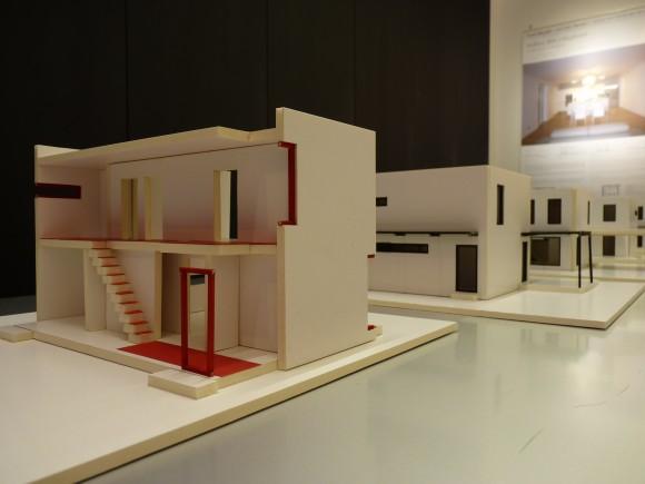 Na výstavě Radima Václavíka jsou k vidění i modely interiéru, foto: Ekobydlení.eu, Martin Singr