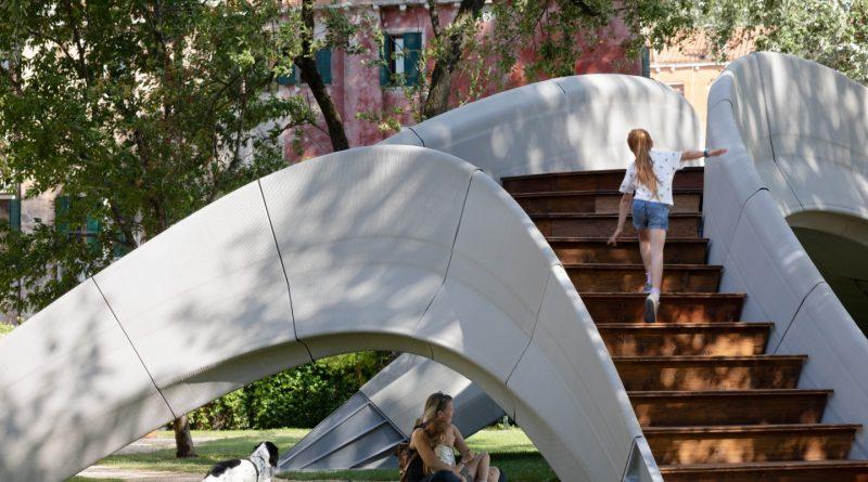 3D tištěný most z betonu nbepotřebuje žádné železné výztuhy. foto: NAARO