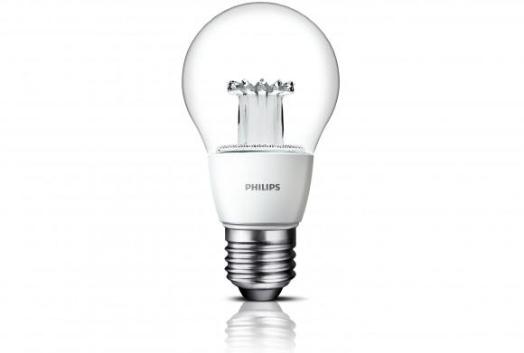 Nová LED žárovka Philips se může pochlubit klasickým tvarem, ale až o 85 % vyšší účinností. foto: Philips