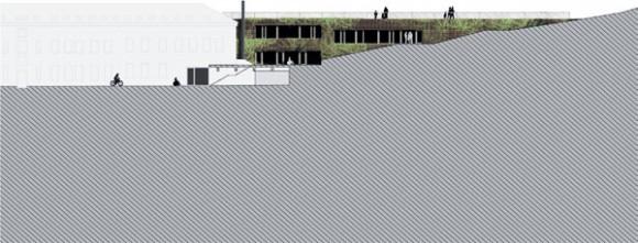Nové sídlo Nadace Partnerství umně propojuje zeleň a zahradu se samotnou šetrnou budovou, foto: Projektil architekti