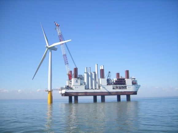 """""""Velká Británie se investic do větrných elektráren nebojí. Peníze si ale radši drží doma."""" Zdroj: siemens.co.uk"""