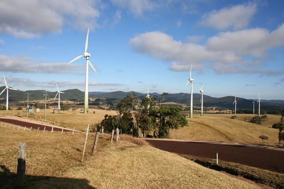 Větrná farma Windy Hill v Austrálii. foto: Lepidlizard, licence Public Domain