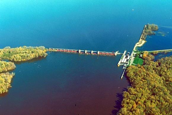 Dolní tok řeky Mississippi se jeví jako nejvíce nadějný z hlediska dostupnosti hydrokinetického potenciálu. foto: US Army Corps of Engineers, licence public domain