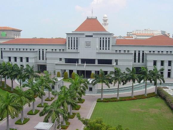 Důkazem toho, že v Singapuru berou zeleň vážně, je i tamní parlament. foto: TteckK, licence public domain