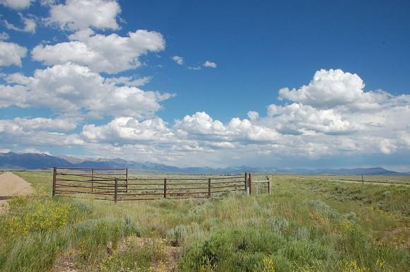 Řídce osídlený, ale rozlehlý stát Wyoming je pro využití obnovitelných zdrojů energie ideální. foto: Wusel007, licence Creative Commons Attribution-Share Alike 3.0 Unported