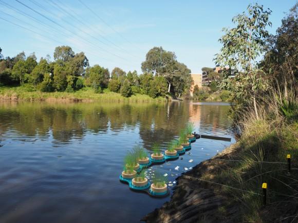 """""""Nápad RowanaThurmana přináší výsledky patrné vcelém Melbourne."""" Zdroj: Amass Design"""