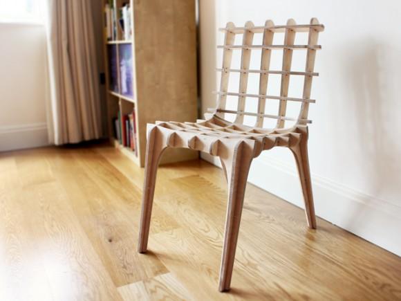 Asi nejnáročnějším úkolem zůstává sestavit ze skládačky dílů konečnou podobu nábytku. Zdroj: kickstarter.com
