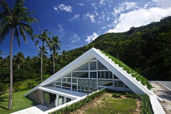 Aqualina Residence, další ukázka toho jak i tropický turistický luxus nemusí být nutně v kontrastu s přírodou. Zdroj: Inhabitat.com