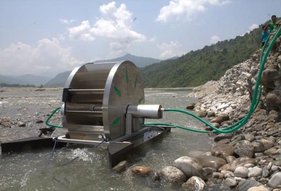 """""""Na podobném technologickém principu fungovala už vodní čerpadla ve starém Egyptě."""" Zdroj: aQuysta.com"""