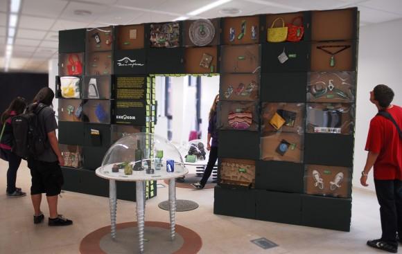 Výstava Brána recyklace na Designbloku 2011