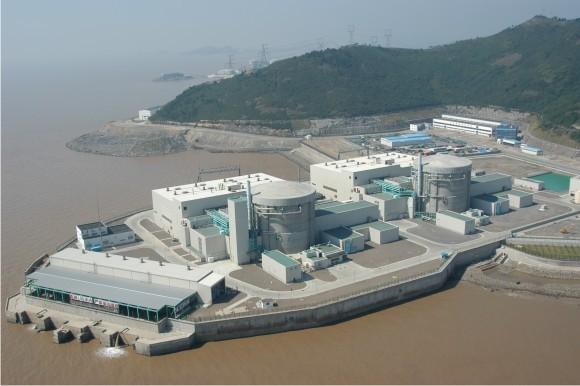 Jaderná elektrárna Če-ťiang. foto: Atomic Energy of Canada Limited, licence Public Domain