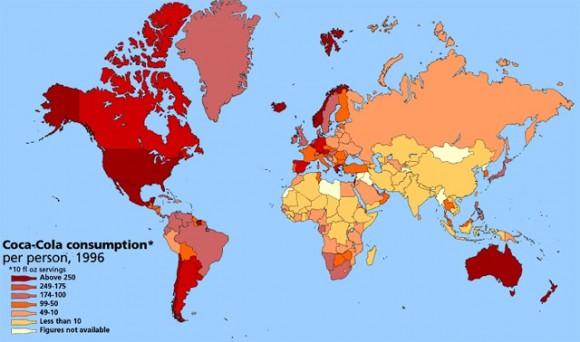 """""""Indie rozhodně nepatří mezi největší konzumenty CocaColy ve světě."""" Zdroj: www.rawfoodvancouver.com"""