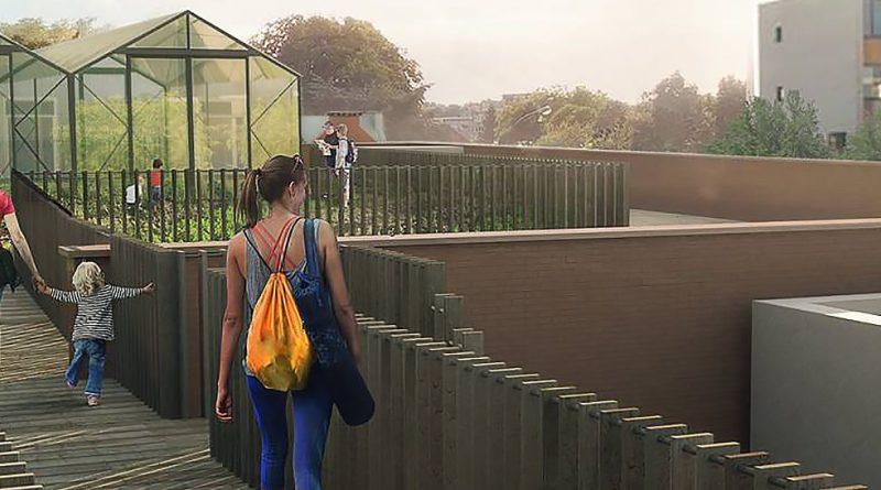 """""""Od příštího roku bude vIxelles obchodní dům, kde si zeleninu a ovoce budou pěstovat sami."""" Zdroj: Boondael"""