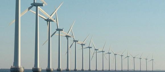 """""""Ilustrační obrázek. Optimální usazení pylonů větrných elektráren do mořského dna může výrazně snížit náklady.""""  Zdroj: ramboll.com"""
