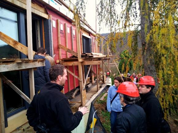 Zájemci o pasivní bydlení si mohli vyslechnout zajímavé přednášky. foto: CPD