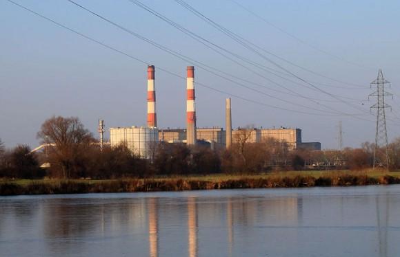 """""""Tepelná elektrárna ve francouzském Richemontu, ilustrační snímek."""" Zdroj: Wikimedia Commons"""