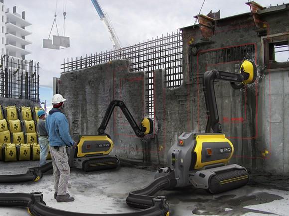 K čemu těžká bourací technika, když tu samou práci zastanou efektivněji malé robotické jednotky? Zdroj: Omer Haciomeroglu