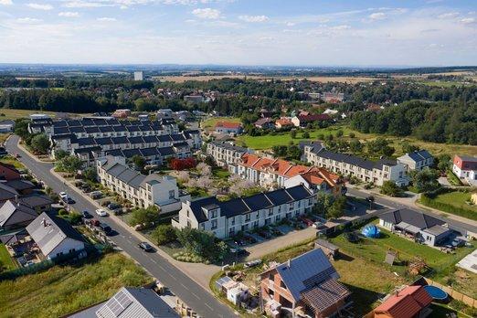 Ve Strančicích u Prahy vzniká nová rezidenční čtvrť East Gardens