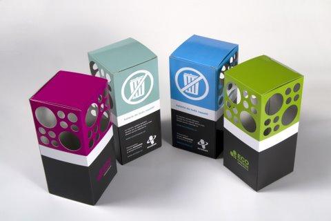 Ecocheese - veřejné sběrny použitých baterií, foto: Ecobat