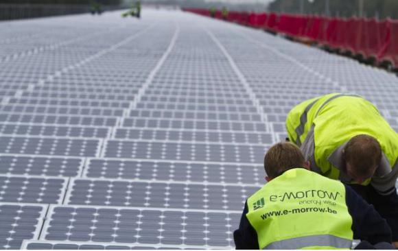 Rychlost, s jakou se Belgičané pustili do solárních instalací, je skutečně zarážející. Zdroj: efinity.be
