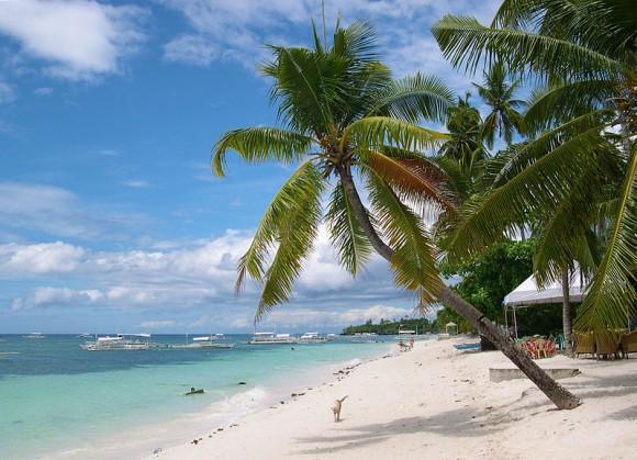 """""""Jen na kouzelných plážích se budoucnost země vystavět nedá, a Filipíny to vědí."""" Wikipedia.com"""
