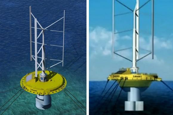 Japonská společnost Mitsui přináší další inovaci do segmentu OZE, hybridní model větrné/vodní elektrárny. foto: Mitsui