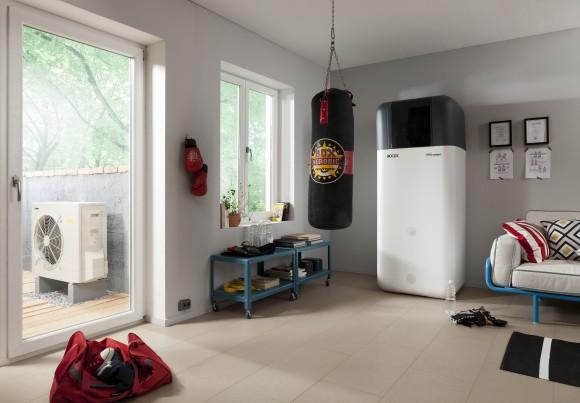 Moderní tepelná čerpadla jsou designově navržena tak, aby zapadla do každé domácnosti. foto: ENBRA