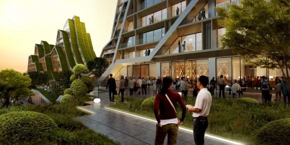 """""""Město Hualien – tam, kde mohou staří vklidu žít."""" Zdroj: Architizer.com"""