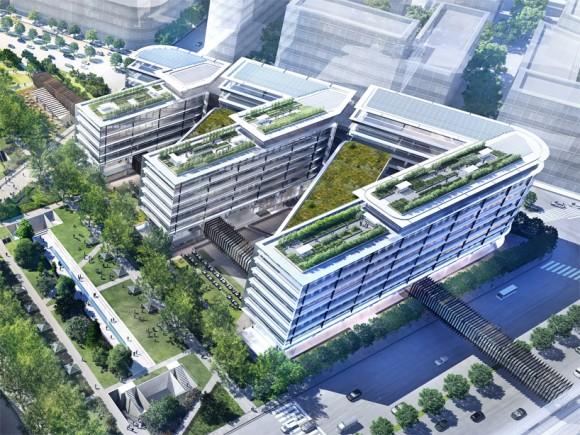 Prostor, zeleň, přirozené světlo a vzdušnost lidé ocení vždycky. Zdroj:designboom.com