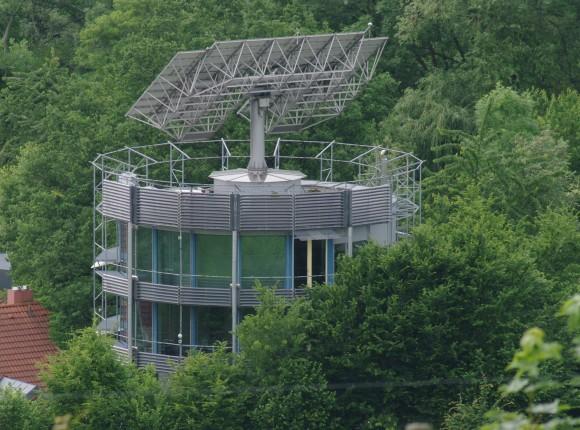 """Heliotrop - kouzlo jednoduchého nápadu, kterého se """"zmocní"""" architekt, jež ví co chce. foto: Joergens.mi, licence Creative Commons Attribution-Share Alike 3.0 Unported"""