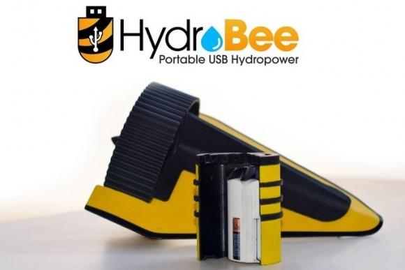 HydroBee představuje skutečně univerzální způsob nabíjení přenosné elektroniky. foto: HydroBee