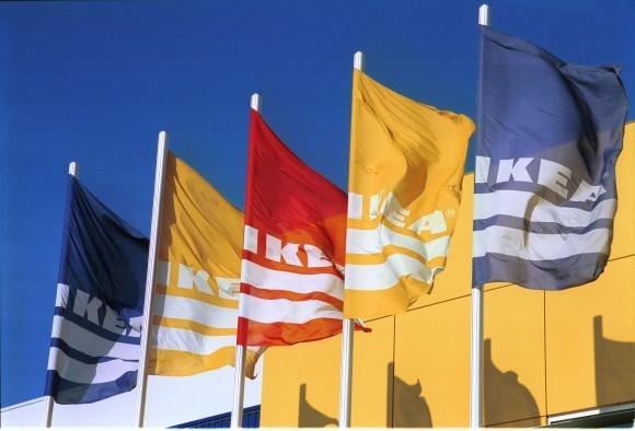 """""""IKEA sází na obnovitelné zdroje energie, protože se jí to vyplatí."""" Zdroj: Ikea Group"""