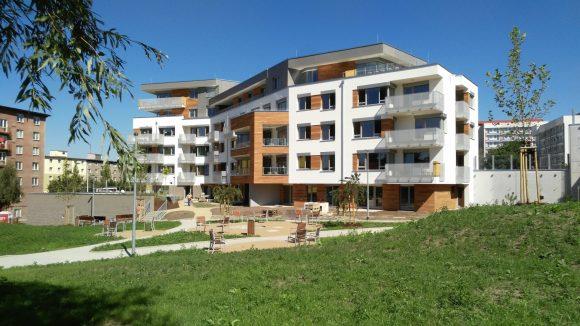 Stavba největšího pasivního projektu v Česku dokončena a5c8d1f328