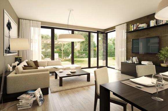 Kvalitní bytový interiér znamená zároveň zdraví co nejméně škodící. Jednoduchá rada zní: větrejte! foto: JRD
