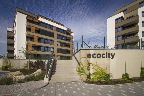 Jeden z mála projektů pasivních bytových domů v České republice, Ecocity Malešice společnosti JRD.
