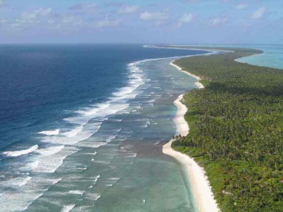 """""""Tropický ráj by mohl definitivně zmizet pod vlnami příboje za sedmdesát let."""""""