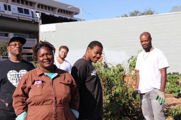 """""""Poctivá práce a v městské farmě dobře vypěstovaná bio-zelenina je jejich prvním krokem k lepšímu životu."""" Zdroj: Kelly Carlisle"""