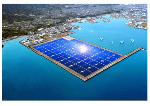 Kyocera - Kagoshima Mega Solar - tak zní oficiální název nové největší solární elektrárna v Japosnku, foto: BusinessWire