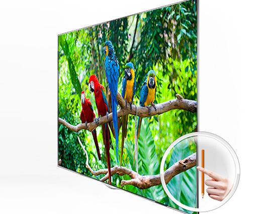 """OLED televize LG Cinema 3D Smart TV s úhlopříčkou 55 """" je tenká jako tužka, foto: LG"""