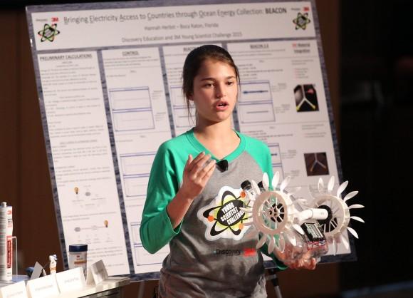 """""""Velké i ty kapesní hydroelektrárny pracují na podobném principu."""" Zdroj: Discovery Education 3M Young Scientist Challenge"""