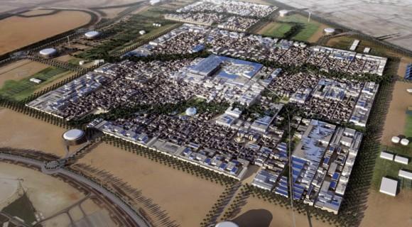 Masdar City - jak by asi mohlo ekologické město vypadat v roce 2020, foto: Masdar