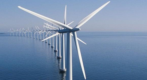 """""""Německo pokořilo hranici 1GW instalovaného výkonu příbřežních větrných elektráren. Zdroj: energydigital.com"""