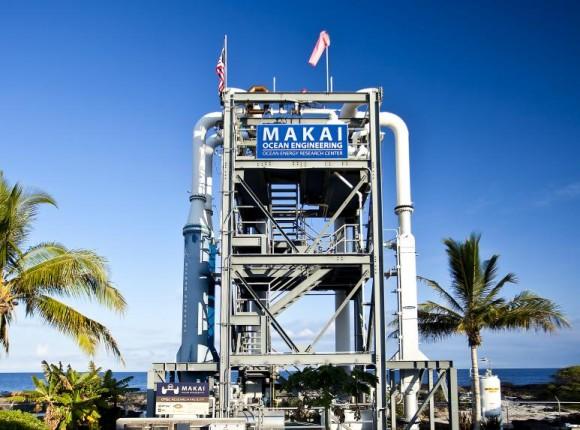 Testovací elektrárna OTEC na Havaji v oblasti Kona. foto: Makai Ocean Technologies