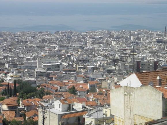 Soluňská metropole nebo Atény nejsou právě městy, kde by se lidé připravovali na zimu. Zdroj: Radomír Dohnal