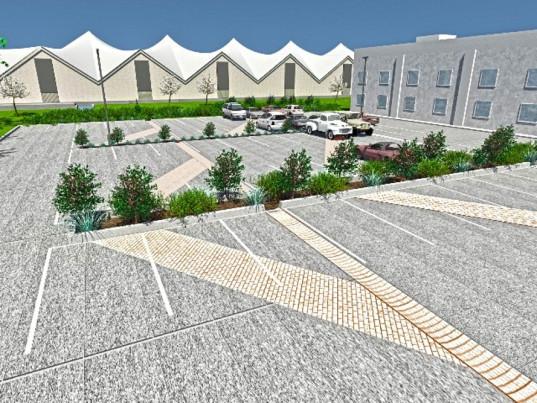 """""""Parkoviště nemusí z územního hlediska představovat jen problém, ale i významnou pomoc pro městkou infrastrukturu."""" Zdroj: ThreadCollective"""